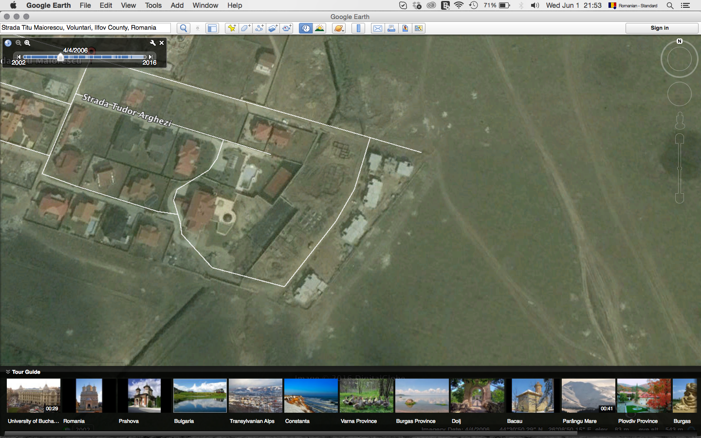 Captura Google Earth