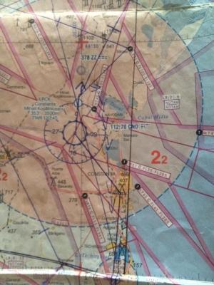 Traseul elicopterului prabusit la Constanta