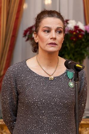 Incident la Teatrul Evreiesc: Cativa sustinatori ai proiectului Rosia Montana au intimidat-o pe Maia Morgenstern