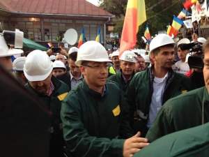 Ponta a copiat de la Nastase procedura comisiei parlamentare speciale pentru Rosia Montana. Vizita de astazi, un remake dupa cea din mai 2003