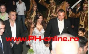 Marcel Pavaleanu si interlopul fugar Razvan Alexe, la nunta din Beirut a fiicei presedintelui CJ Prahova, Mircea Cozma